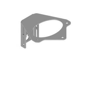 Кронштейн для крепления муфт на опорах ККМ МВОТ-216-01